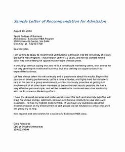 28 letter of recommendation in word samples for Letter of recommendation format
