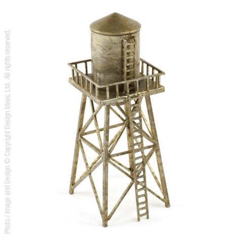 WaterTower? decorative container   Design Ideas