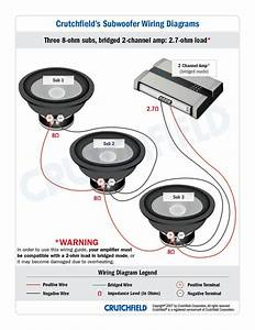 Subwoofer Wiring Diagram Dual 4 Ohm   Subwoofer Wire