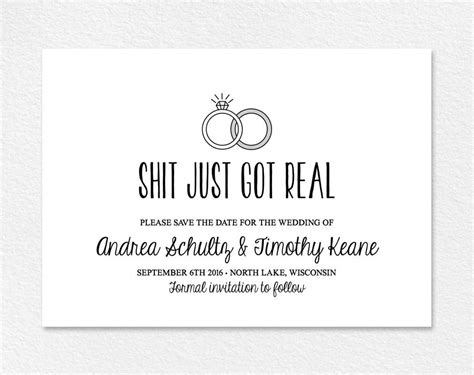 Humorous Wedding Invitation Wording From Bride And Groom