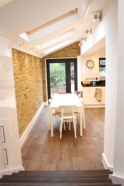 gillespie road kitchen extension side return open plan
