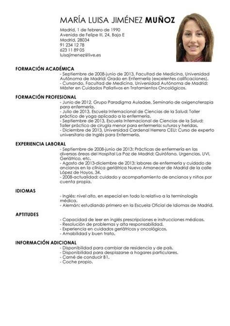 Modelos De Resume by Modelo De Curriculum Vitae Nicaragua Modelo De
