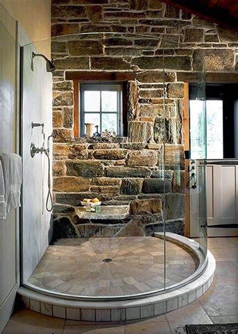 walk  shower ideas decor outline