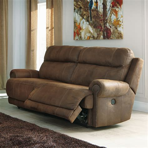 ashley reclining sofa reviews signature design by ashley austere 2 seat reclining sofa