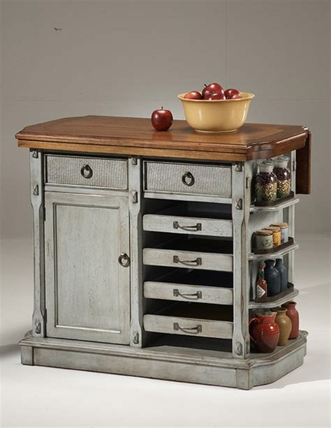 portable kitchen island with drop leaf portable kitchen cart plans