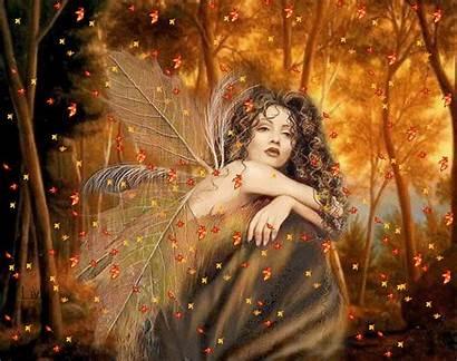 Autumn Fairy Fall Angel Gifs Fairies Angels