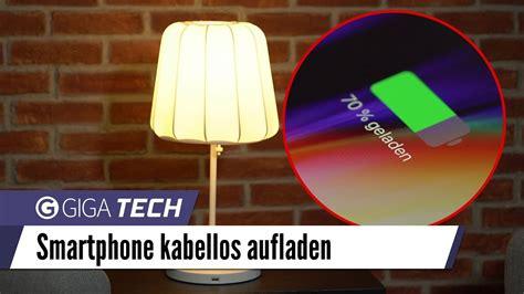 Iphone 8 X Und Samsung Galaxy S8 Kabellos Laden Mit Ikea Varv Nachttischle Giga De