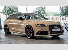Audi RS6 Avant in Mocha Latte Is the Perfect Weekend