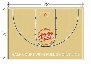 31 Basketball Court Drawing And Label