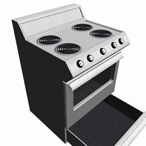 open oven door 3d max