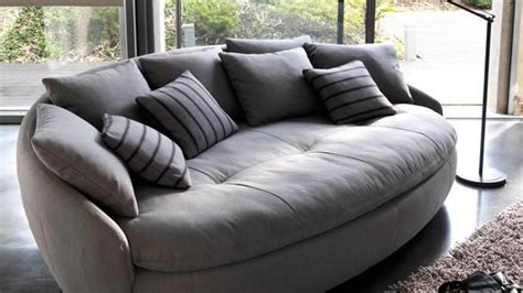 canapé rond 6 canapés insolites pour le salon canapé rond diaporama