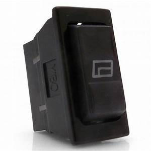Illuminated 3 Position Rocker Switch With Window Icon