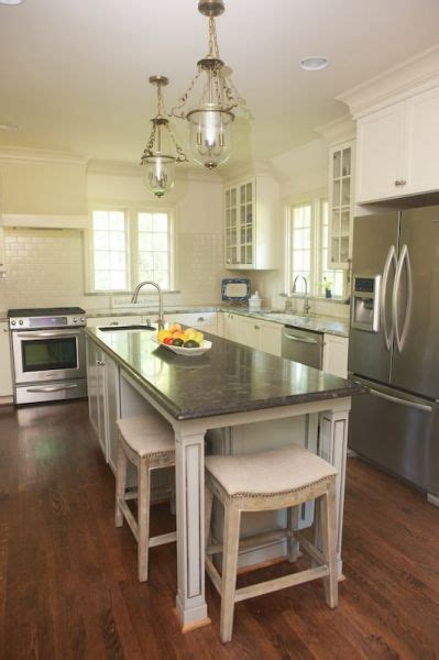 narrow kitchen islands with seating narrow island with seating kitchen kitchen 7065