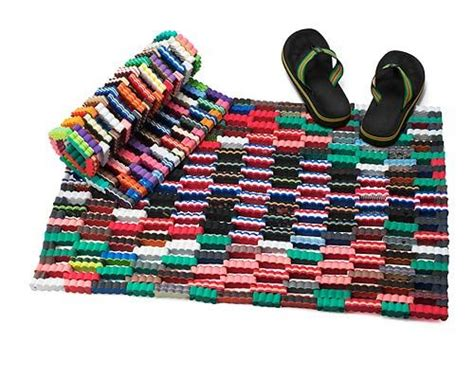 recycled flip flop doormat 193 best images about it ain t easy being green on