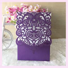 Purple Wedding Invitation Cards Designs Online Purple