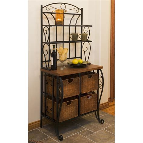 Iron & Wicker Bakers Rack  Bakers Racks At Hayneedle. Drawer Frame. 2 Drawer End Table. Spawar Help Desk. Concrete Dining Room Table. How To Decorate A Dining Table. Portal Gap Com Help Desk. Ping Pong Table Price. Table Decor Ideas
