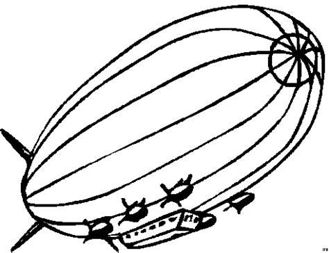 zeppelin mit raketen ausmalbild malvorlage die weite welt