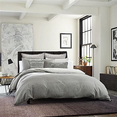 kenneth cole  york dovetail duvet cover bed bath