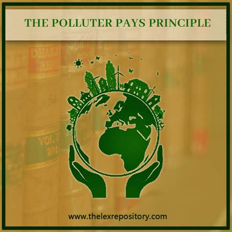 THE POLLUTER PAYS PRINCIPLE - Lex Repository
