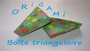 Comment Faire Une Boite En Origami : comment faire une boite triangulaire en origami youtube ~ Dallasstarsshop.com Idées de Décoration