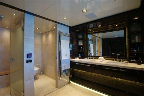 bilgin superyacht main deck master bathroom yacht