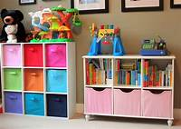 storage ideas for kids rooms The Navy Stripe: Organizing Kids Toys