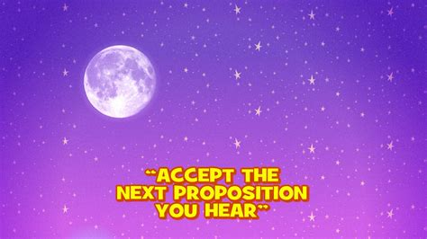 Accept The Next Proposition You Hear/transcript
