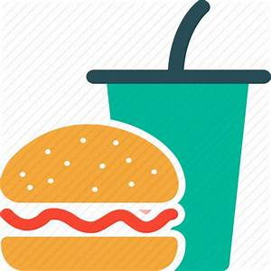 Burger, drink, fast food, junk food icon | Icon search engine