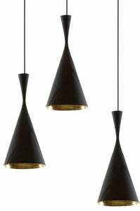 Tom Dixon Lamp : beat pendant light black copper from tom dixon beat tall lights ~ Markanthonyermac.com Haus und Dekorationen