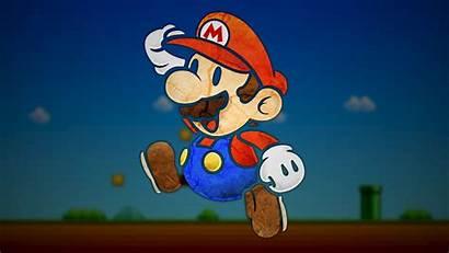 Mario Nintendo Paper Wallpapers Desktop Pc Games