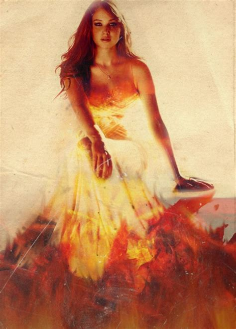 Girl On Fire  The Hunger Games  Image #1351981 By Loalle