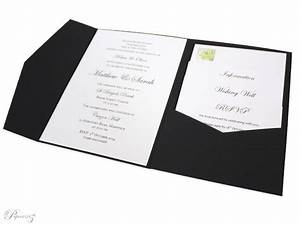 Wholesale invitations a5 pocket fold starblack for A5 pocketfold wedding invitations