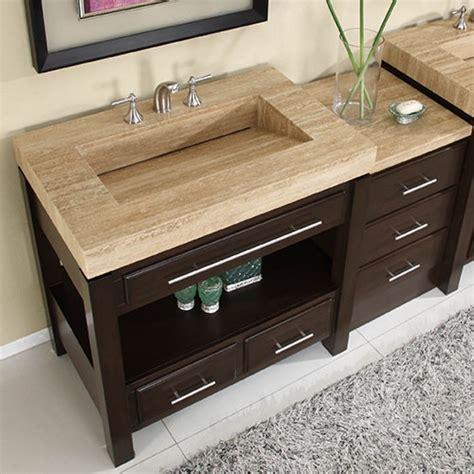 single sink cabinet  espresso finish