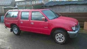 Isuzu 1998 Kb Red 2 8 Turbo Diesel 4x4 Truck Cab Chevrolet