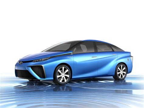 Toyota Will Sell You A Hydrogen-powered Car Next Year