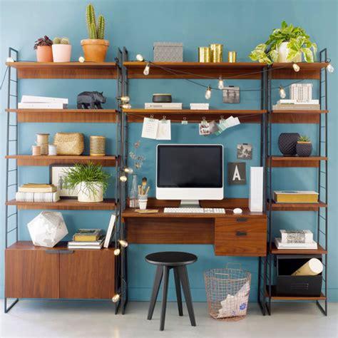 bureau vintage la redoute watford midcentury style shelving system at la redoute
