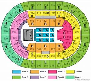 Moda Seating Chart With Seat Numbers Moda Center At The Rose Quarter Tickets In Portland Oregon