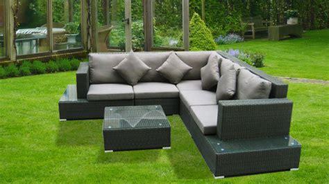 canape pour exterieur mobilier jardin exterieur solde salon de jardin resine