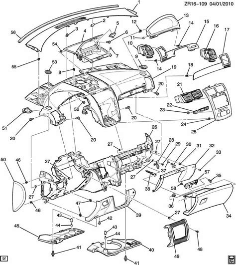 Gmc Part Diagram by New Oem Genuine Gm 25943466 Compartment Instrument Panel