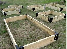 Two Men and a Little Farm RAISED GARDEN BEDS, STEP ONE