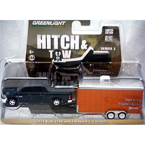 greenlight hitch tow  dodge ram  crew cab