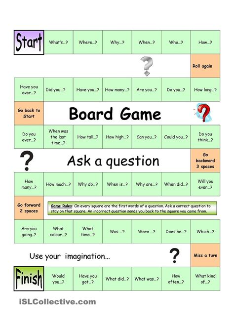 Board Game - Ask a Question (Easy)   This or that ...