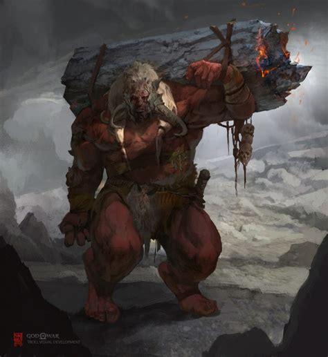 God Of War Concept Art By Vance Kovacs Concept Art World
