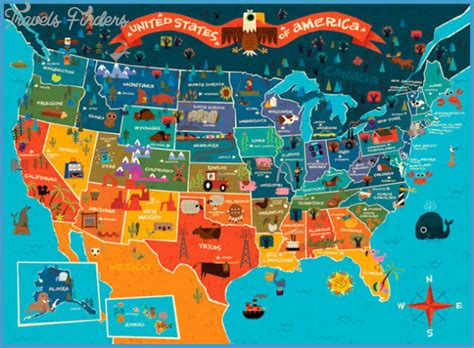 united states map tourist attractions travelsfinderscom
