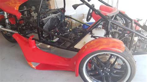 Veloss T-rex Campangna Style Reverse Trike, 2012 With