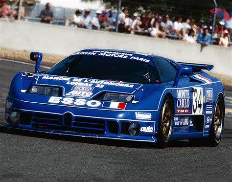This incarnation of bugatti died in 1995, but just before the end, the company built some race cars. 1994 Jean-Pierre Malcher Used Team Synergic Bugatti Le ...