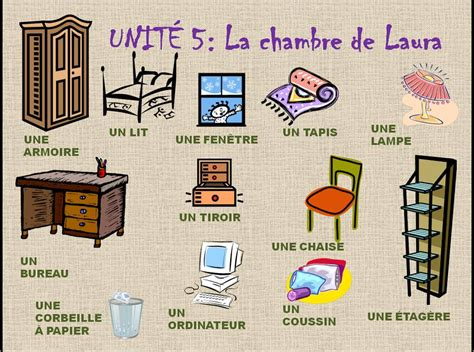 la chambre des francés en el cole la chambre la maison et les