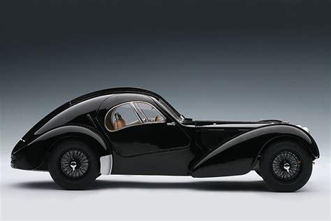 AUTOart: 1938 Bugatti 57SC Atlantic - Black w/ Disc Wheels ...