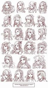 anime hairstyles | Disney characters drawings | Pinterest ...