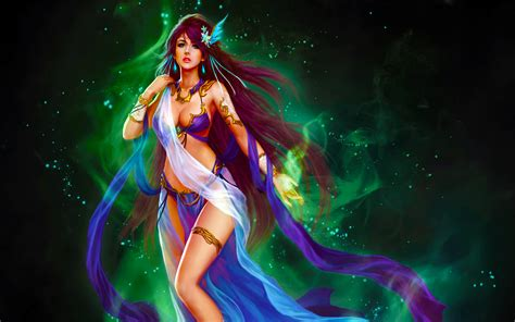 league  angels  nocturna magical girl  long hair